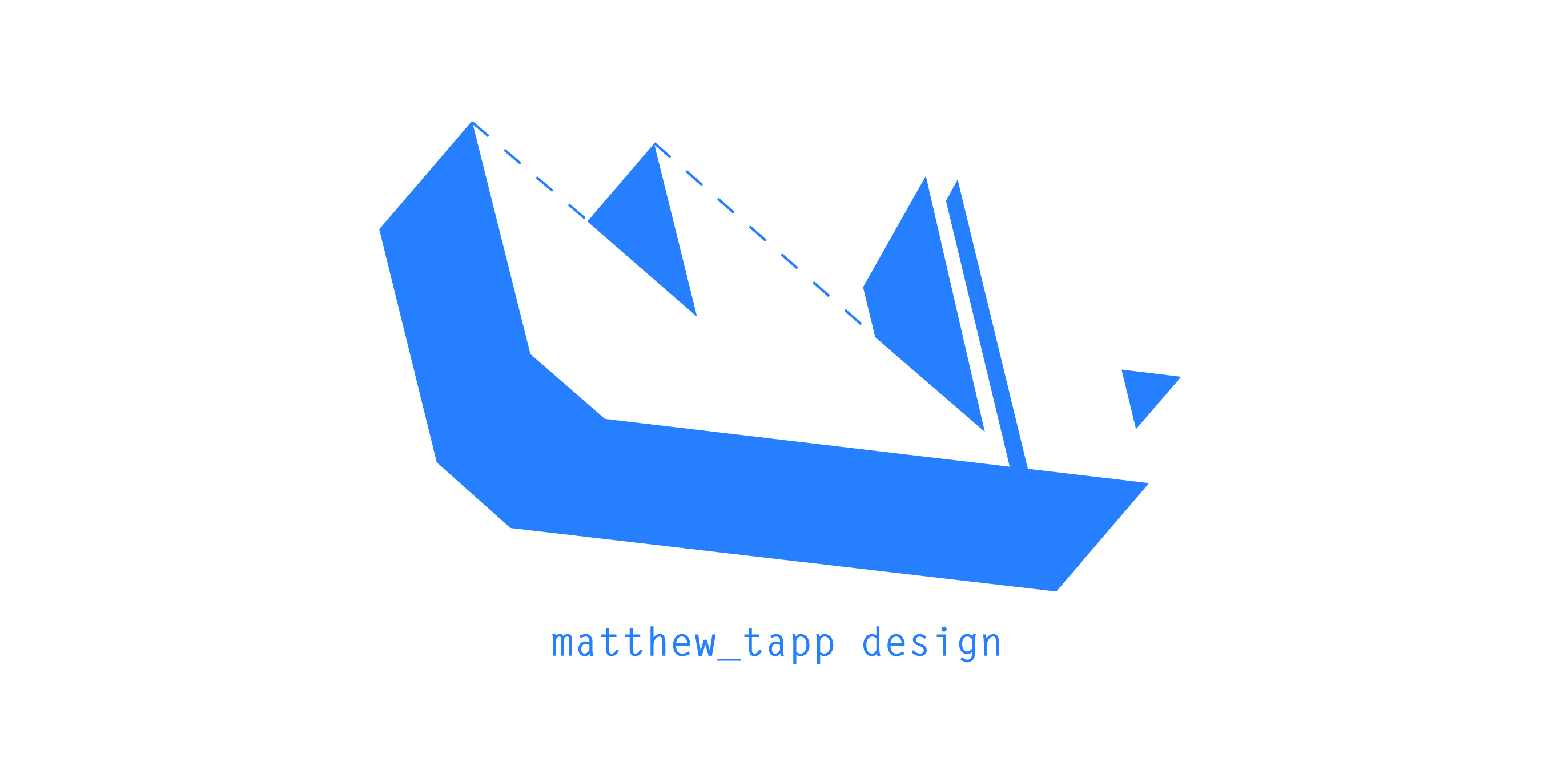 My current personal logo design. This is my current logo.