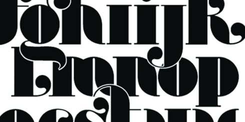 A typeface by Global designer, Craig Ward.