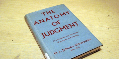 How judgement is used in relation to surrounding stimuli within our environments.