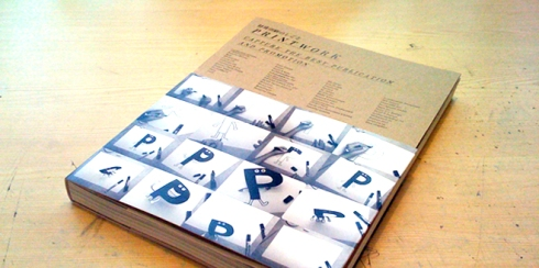 A publication that looks at the physicality of print based media.