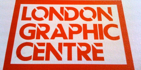 Visited the London Graphic Centre whilst in London recently.